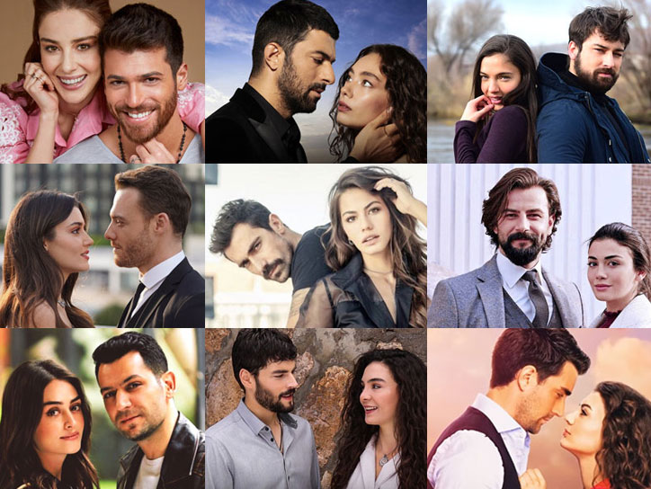Couples in Turkish TV series 2020