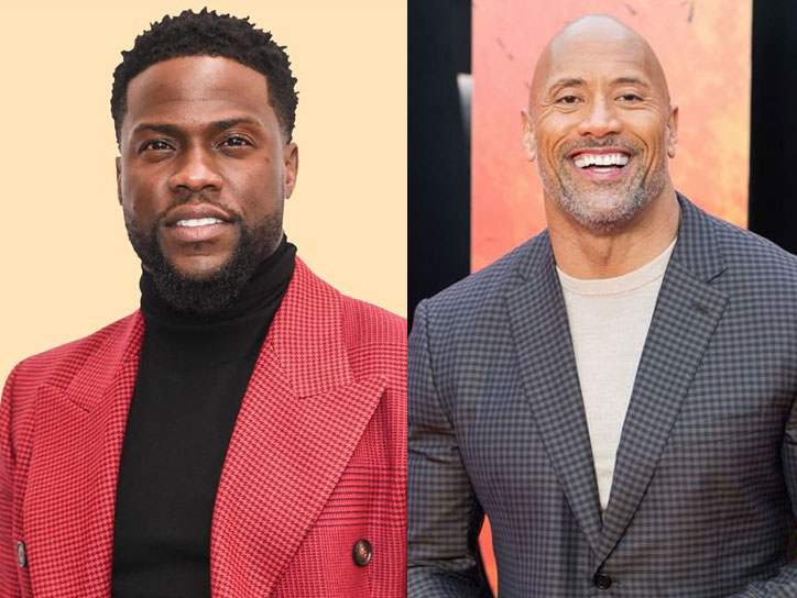 Kevin Hart vs Dwayne Johnson